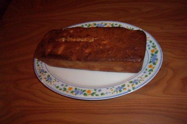 cake aux poires épicé