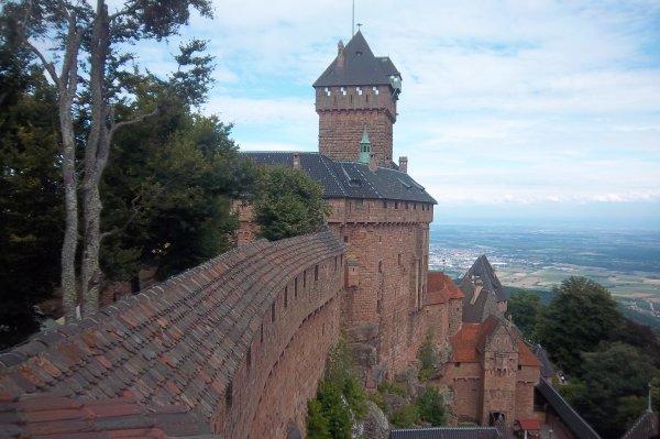 le chateau du haut - koenigsbourg