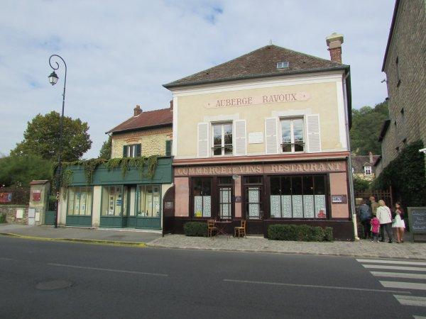 hier ballade à Auvers -sur- Oise