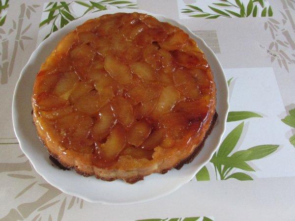 une tarte tatin recette de Gérald Lejeune