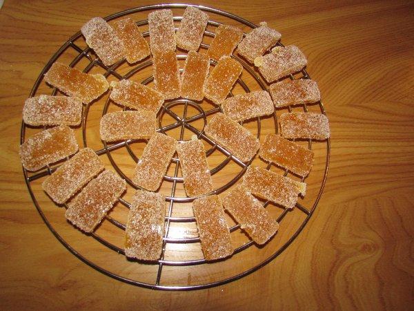 pâte de fruits maison