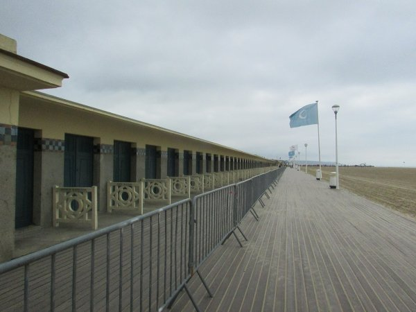 un week-end à Deauville son casino et sa plage les planches