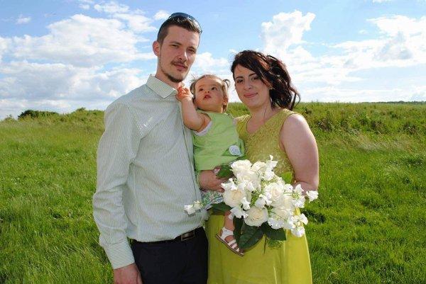 ma petite fille et ses parents