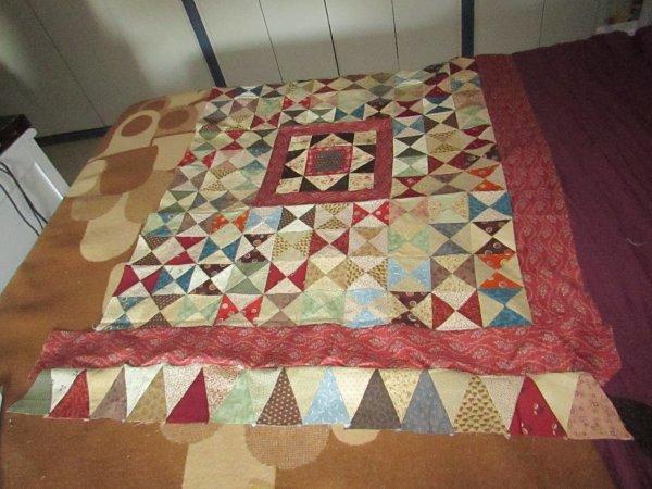 mercredi apres midi patchwork mon ouvrage encours