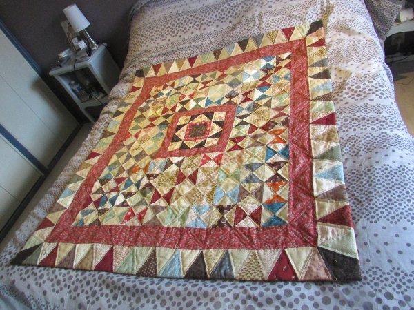 mon patchwork est terminé