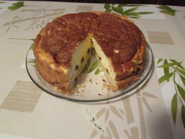 tarte au fromage blanc ce jour