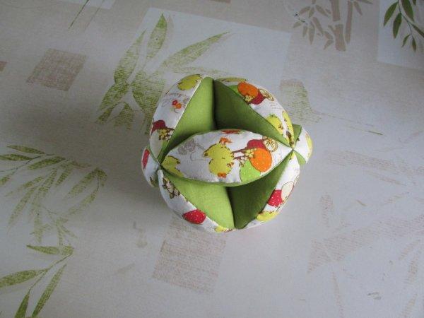 Balle montessori que j'ai réalisé pour mes petits enfants chacun sa balle