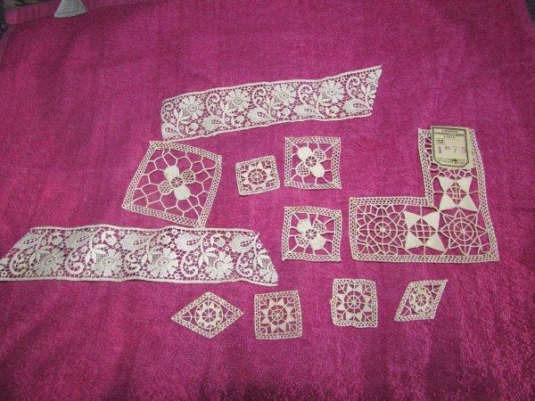dentelles reçue de la part de tricot-maniannie