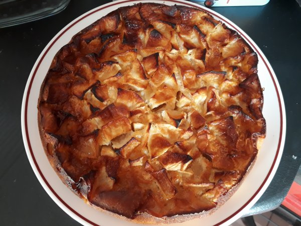 gâteau aux pommes improvisé