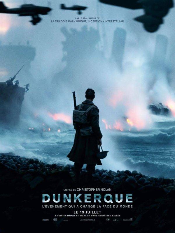 je suis allée au cinéma voir Dunkerque