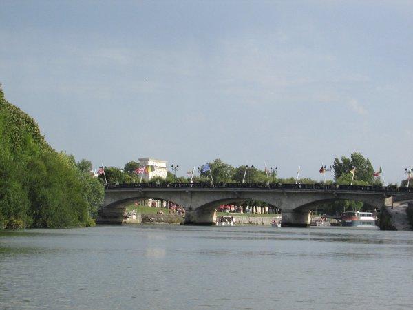 ballade d'une heure  sur la Charente partant de Saintes