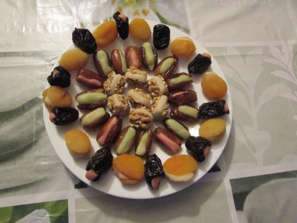 fruits déguisés maison