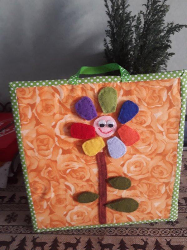 une autre  tablette éducative: la fleur