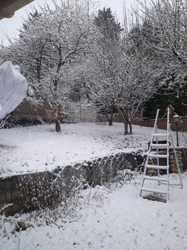 l'hivers n'est pas encore fini  ce manteau un léger manteau blanc
