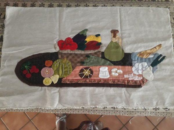 suite du patchwork le chant des cigales  bon appétit