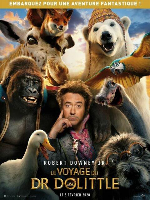 un film que je recommande en famille le voyage du docteur Dolittle