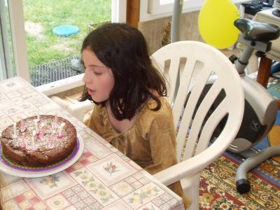déjà 10 ans pour Annelise en 2007
