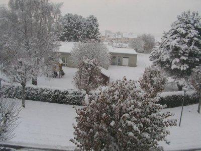 hiver a bayeux