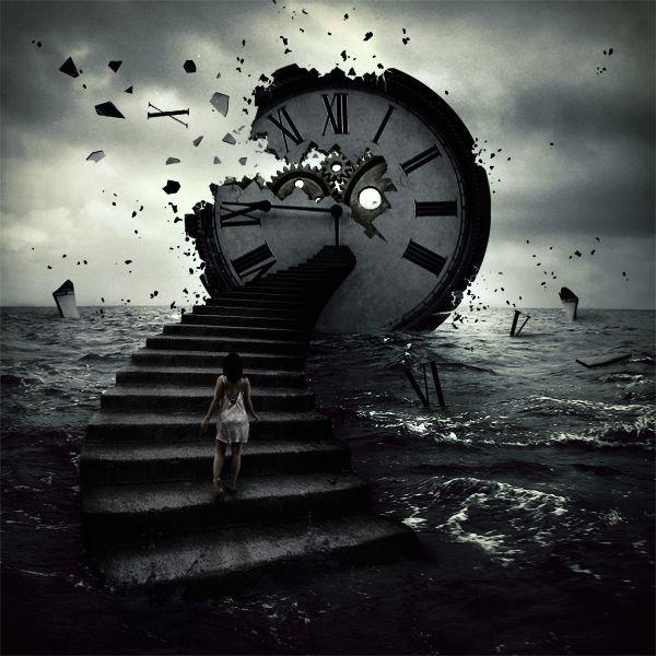 Il n'y a pas de temps. Il n'y en a jamais eu et il n'y en aura jamais