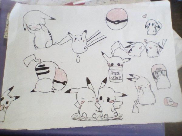 Mes dessin pikatchou ❤