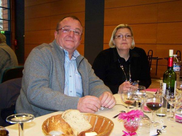 REPAS ET REMISE DES PRIX DU CLUB  INTERNATIONAL DE CAUDRY
