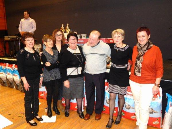 REPAS ET REMISE DES PRIX DU CLUB INTERNATIONAL DE CAUDRY 2016