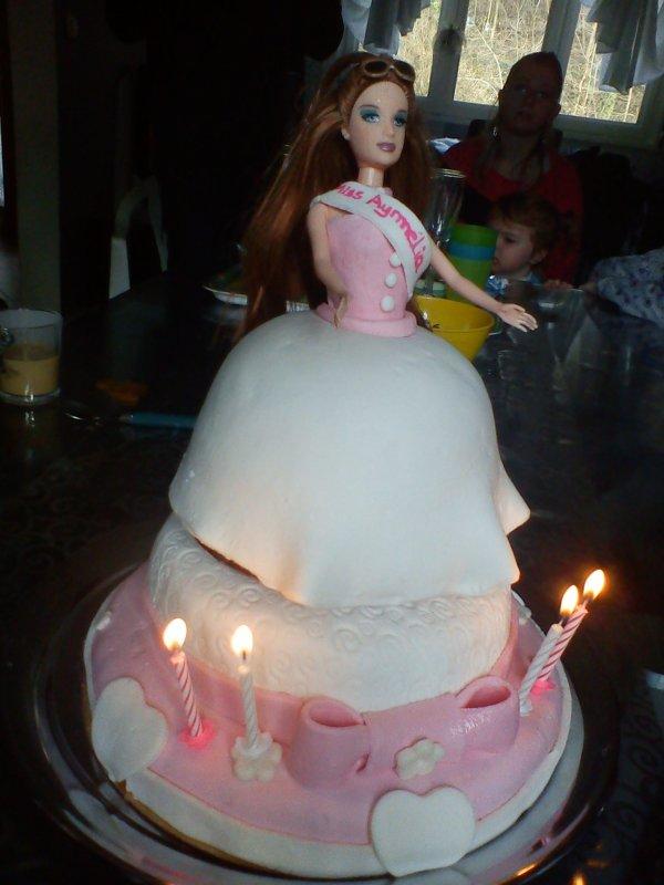 18 mars 2012 = 4 ans de ma princesse Aymélia