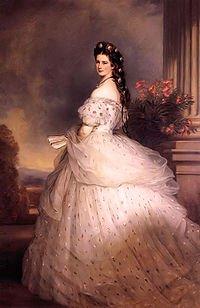 Elisabeth de Wittelsbach, duchesse en Bavière puis impératrice d'Autriche et reine de Hongrie