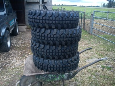 L'arriver de mes 4 pneus Fédima