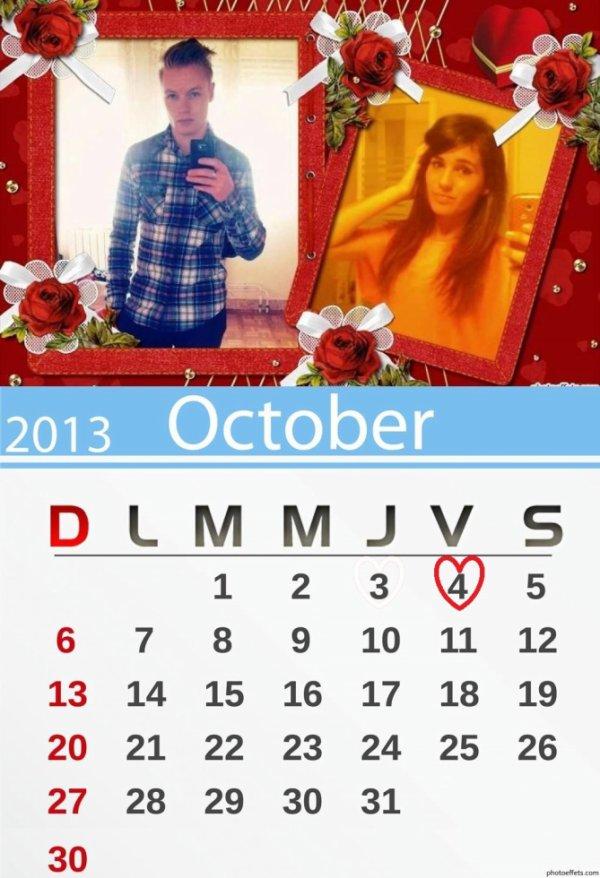Notre date <3