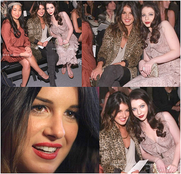 ______  ______• 12 Septembre 2010   • ______Shenae de nouveau à la fashion week de New York.  ______