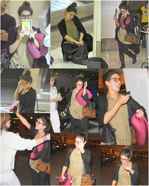 ______  ______• 14 Septembre 2010  • ______Shenae à l'aéroport de LAX tard dans la nuit. ______