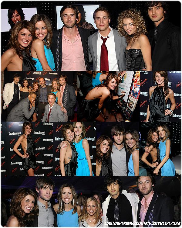 """______  ______• 13 Mai 2008  • ______Shenae et le cast de 90210 à la """" The CW Network's Upfront""""  ______"""