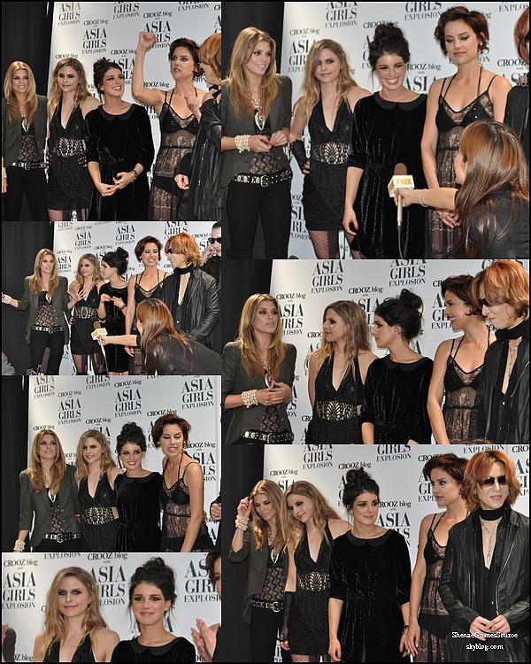 ______  ______• 6 Mars 2011  • ______Shenae, Jessica Stroup  & AnnaLynne McCord  étaient présentes toutes les 3 à la Asia Girls Explosion à Tokyo au Japon.  . ______