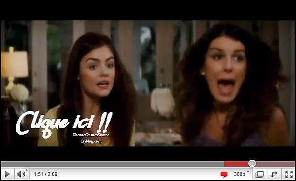 ______  ______• Scream 4  • ______Découvrez le 1er stills de Shenae & de Lucy Hale dans Scream 4 ______
