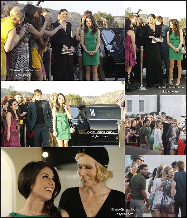 ______  ______• 19 Avril 2011 • ___ Shenae allant au Chateau Marmont. Elle y a retrouver Manish Dayal l'interprète de Rej dans 90210.