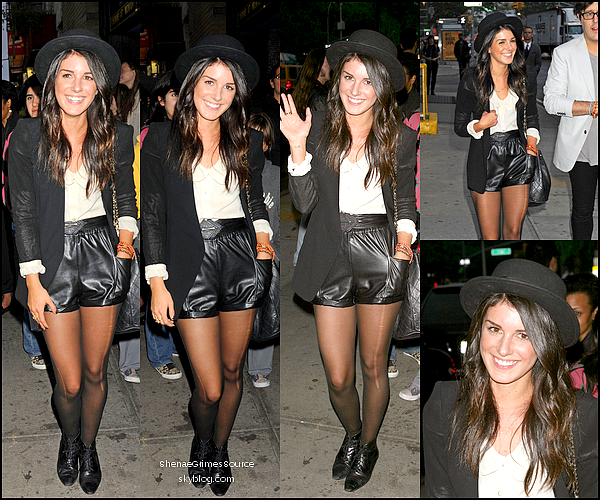 "______  ______• 23 Mai 2011  • ___ Shenae arrivant à la soirée ""The Hangover Part II"" à New York"