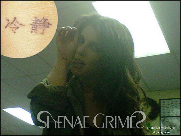 ______  ______• Photo personnelle • ___ Shenae à posté une nouvelle photo d'elle sur son site