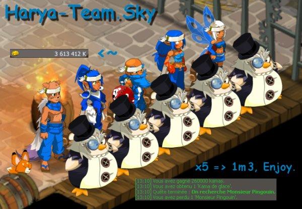 Mr (Kinder !) Pingouin