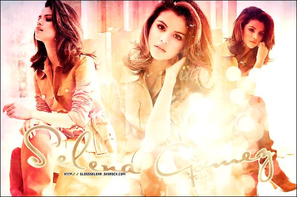 Bienvenue sur GlossSelena ,ton blog source sur la belle Selena Marie Kayleigh Gomez!