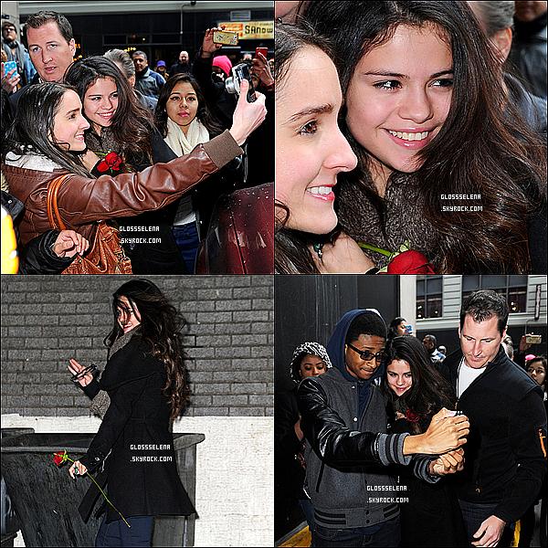 19/01/2013 : Selena à donnée un concert de charité pour l'UNICEF.
