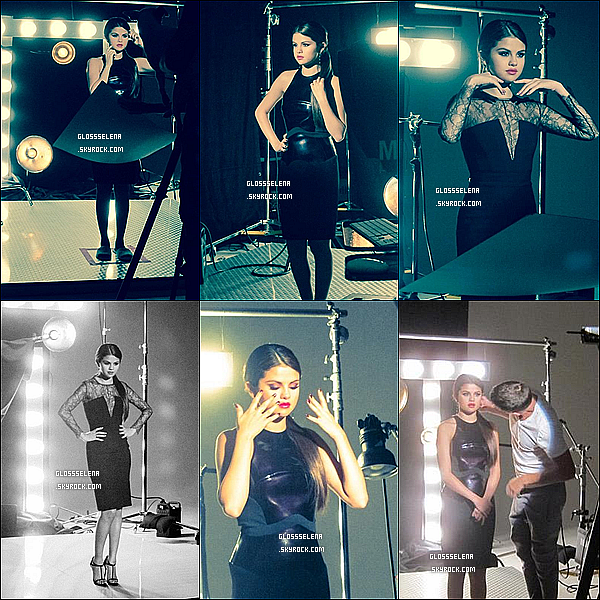Photos du behind The Scenes du nouveau shoot pour les vernis OPI :
