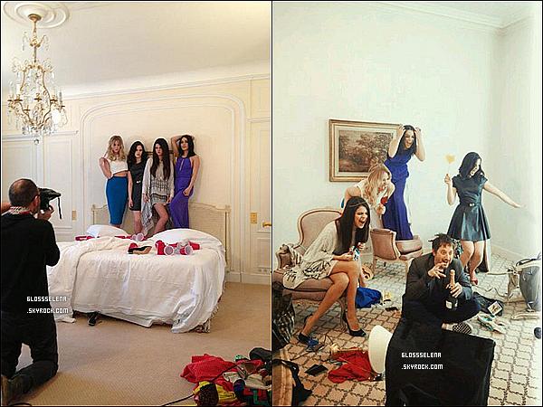 TV:    21.02.2013  - Selena à l'émission El Hormiguero en compagnie de Vanessa Hudgens.