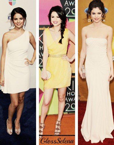 . Quelle est selon toi la plus belle robe de Selena ? .