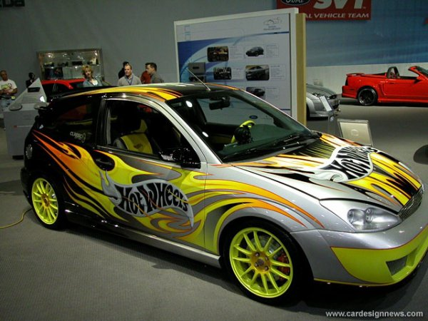 ford focus hot wheels