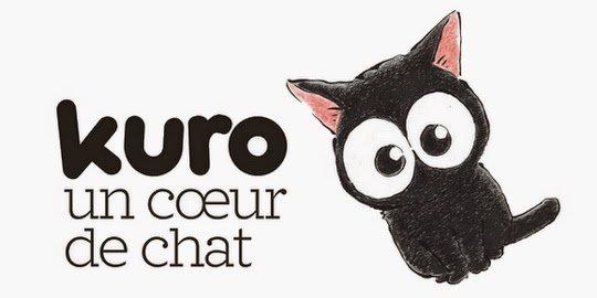 Kuro, un coeur de chat