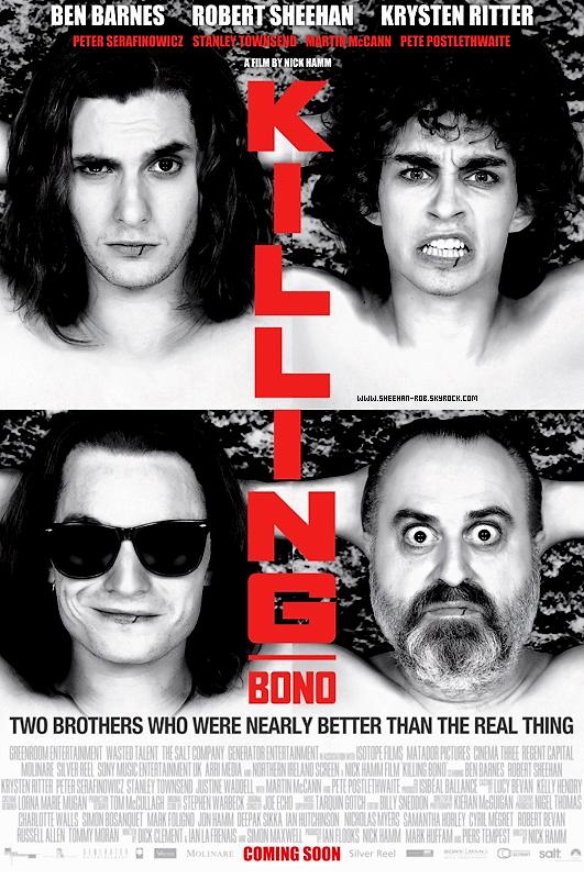 """Le 25 mars, Rob était invité à l'émission """"The late late show"""" pour parler de son nouveau film Killing Bono."""