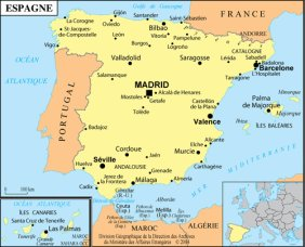 map of spain!