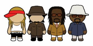 THE BLACK EYED PEAS!!!