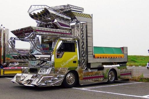 camion tuning japonais
